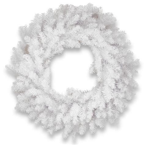 30 Dunhill White Fir Artificial Christmas Wreath - Unlit .